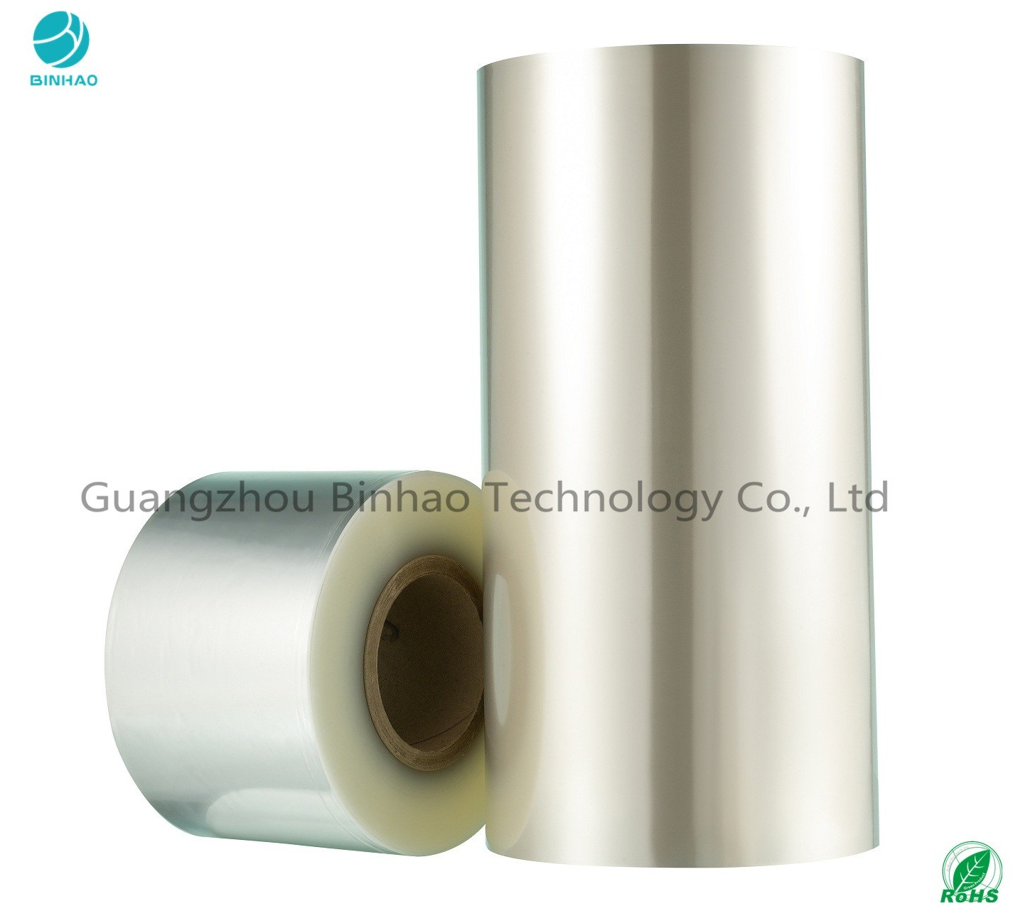 20 Micron Clear BOPP Heat Sealable Packaging Film In High Shrinkage / Cigarette Box Packaging